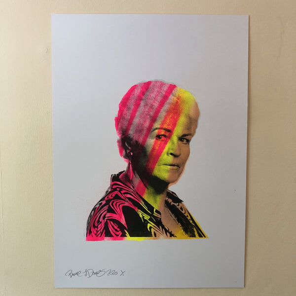 Have a butchers Print by Barrie J Davies 2020 - unframed Silkscreen print on paper (hand finished) edition of 1/1 - A2 size 42cm x 59.4cm.