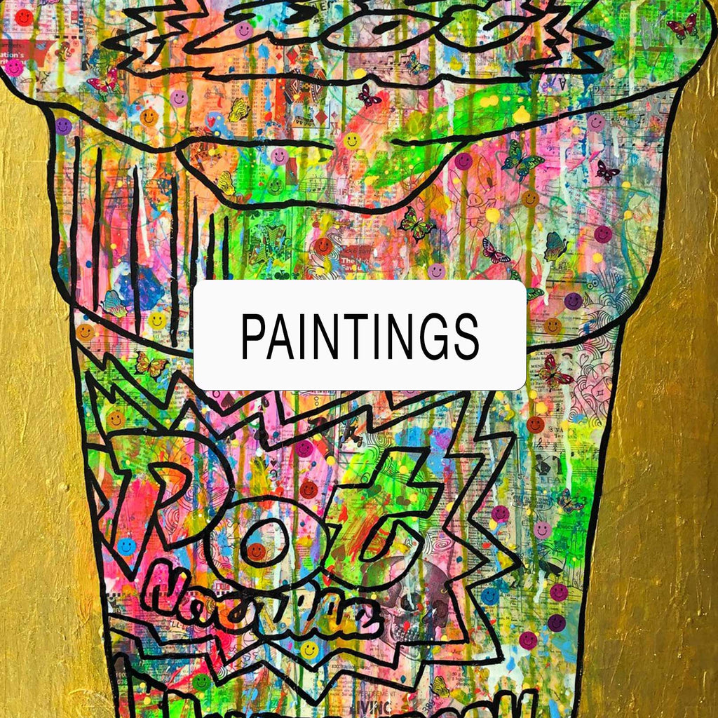 Paintings by Barrie J Davies