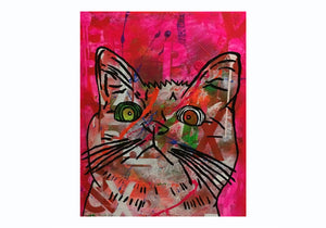 Cosmic Moggy 7 by Barrie J Davies 2014
