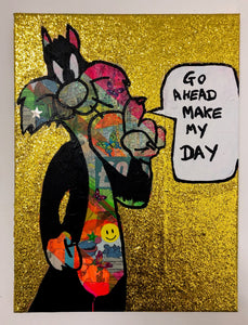Go ahead make my day by Barrie J Davies 2019