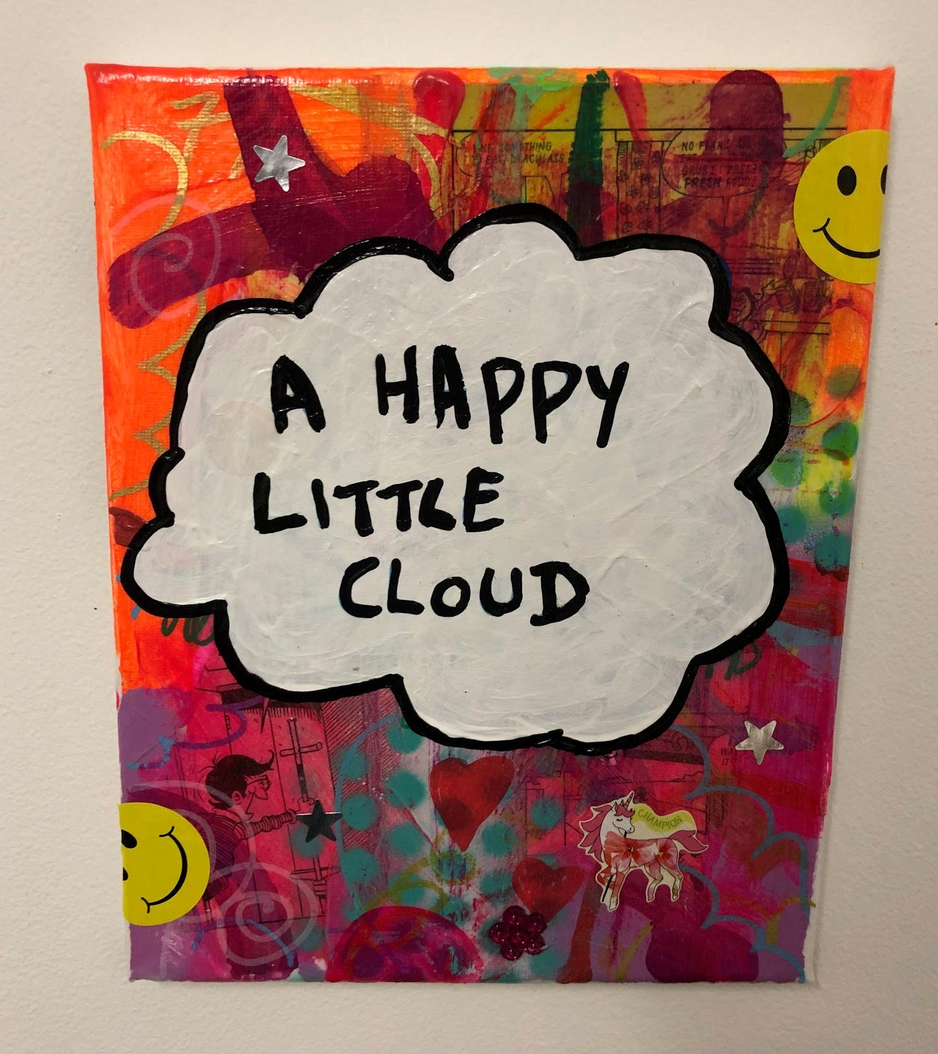Happy Little Cloud by Barrie J Davies 2019