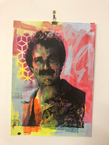 Top Tom Print by Barrie J Davies 2019