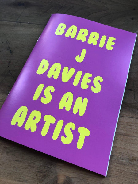Barrie J Davies is an Artist this limited edition of 100 book is signed and numbered by Barrie J Davies, 40 pages, 21cm x 29.7cm. Published by Barrie J Davies. Barrie J Davies is an Artist - Pop Art & Street art inspired Artist based in Brighton England UK - Pop Art Paintings, Street Art Prints & Editions available.
