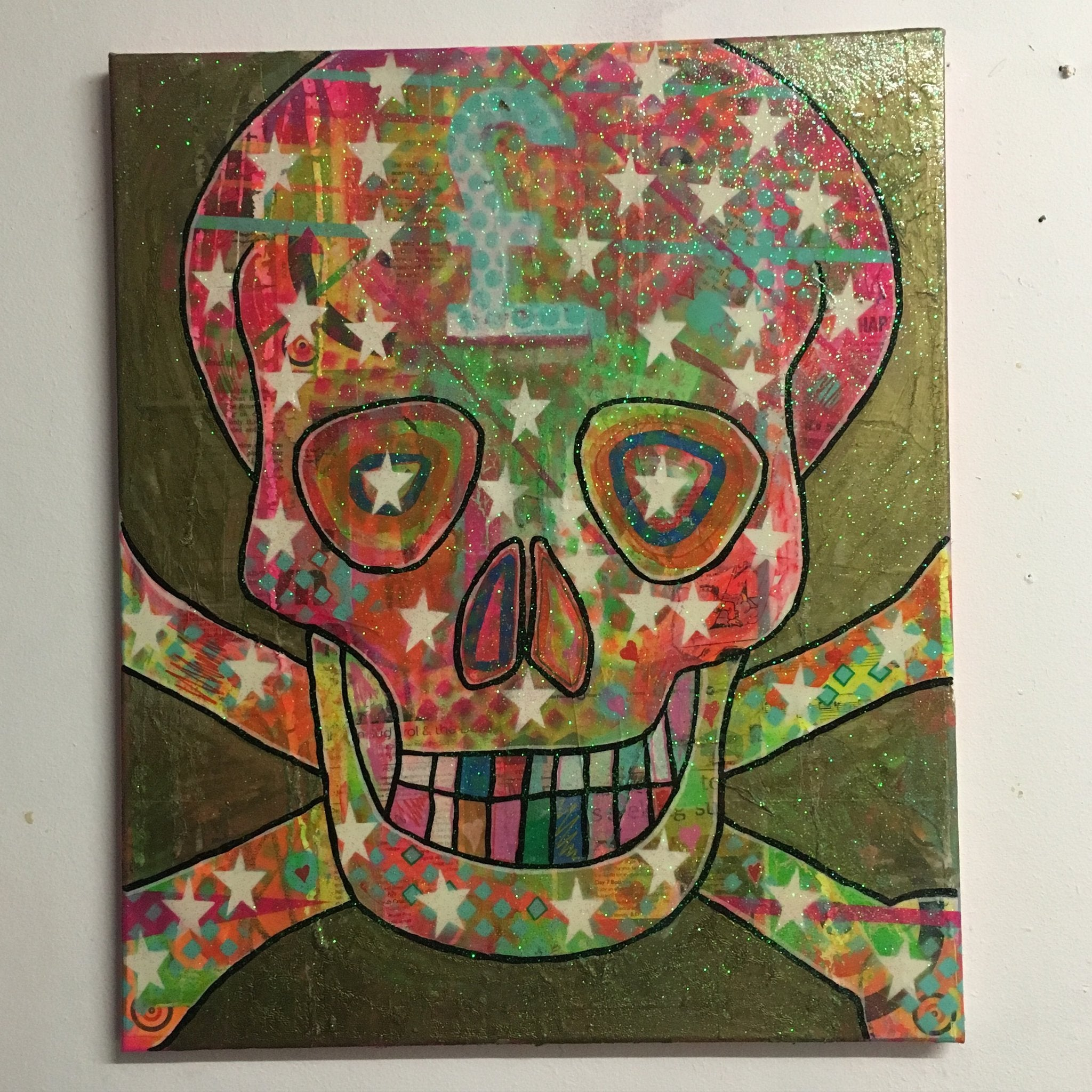 Cobra Juicy by Barrie J Davies 2016, mixed media painting on canvas, 50cm x 60cm, unframed. Barrie J Davies is an Artist - Pop Art and Street art inspired Artist based in Brighton England UK - Pop Art Paintings, Street Art Prints & Editions available.