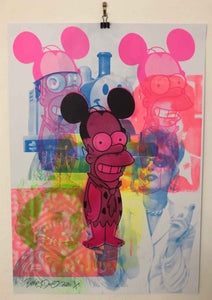 Monster Mash Print by Barrie J Davies 2020
