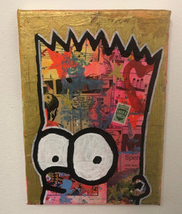 Out of my head by Barrie J Davies 2019, Fun Colourful Pop Art Street Artist based in Brighton England UK. Buy online for free delivery worldwide.