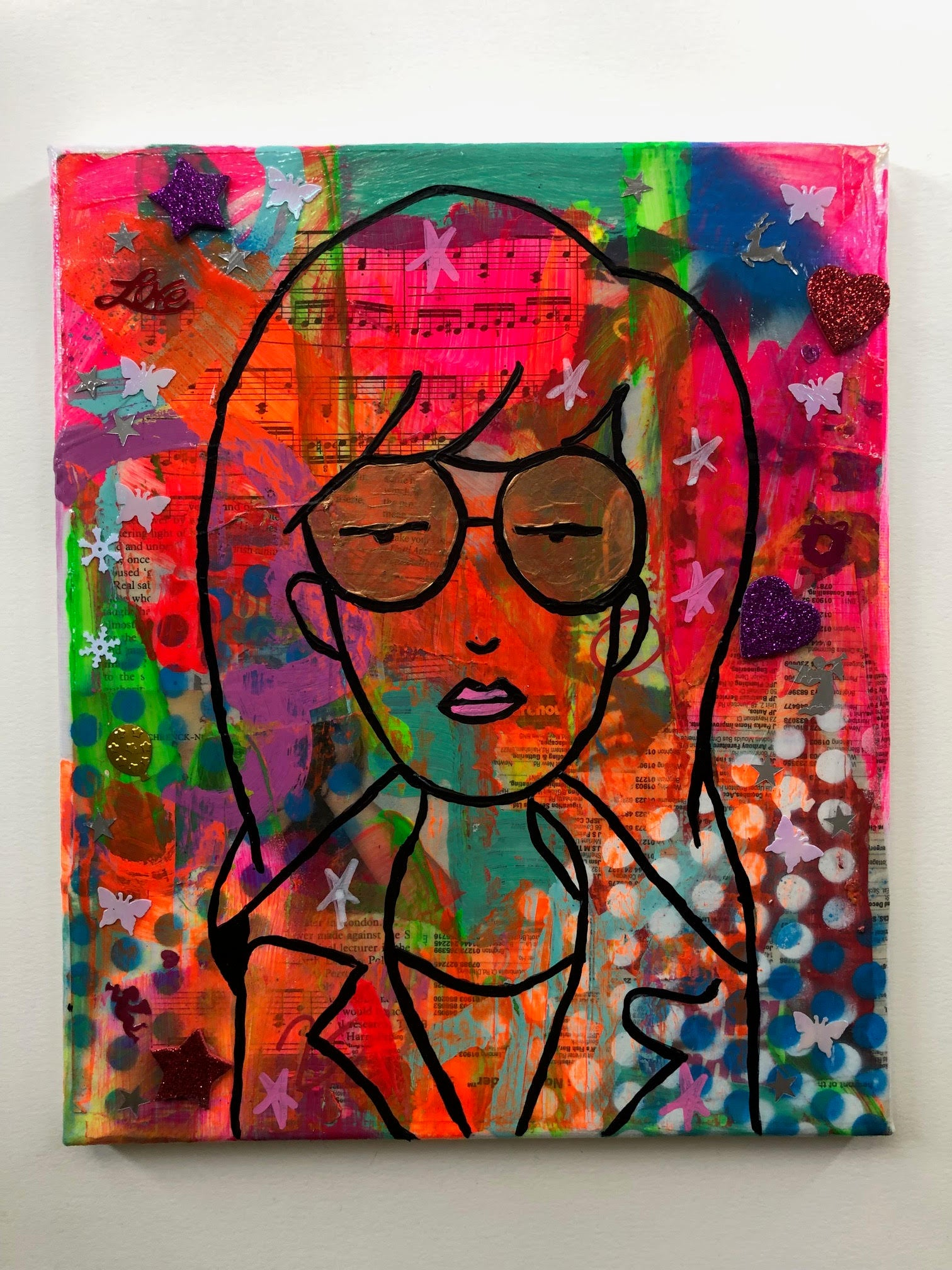 Sick Sad World by Barrie J Davies 2019