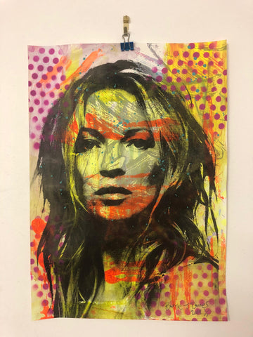 Super Kate Print by Barrie J Davies 2019