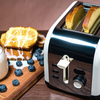 Toaster w/LCD Timer