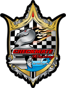 Checkmate Racing Shield Decal
