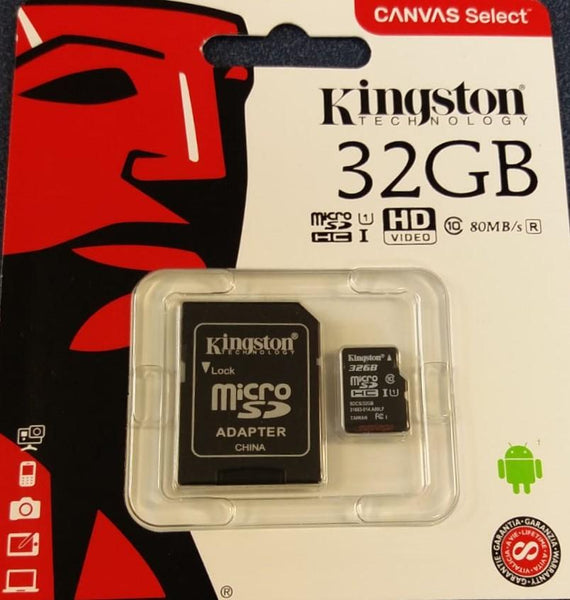 Memory Cards & USB Drives