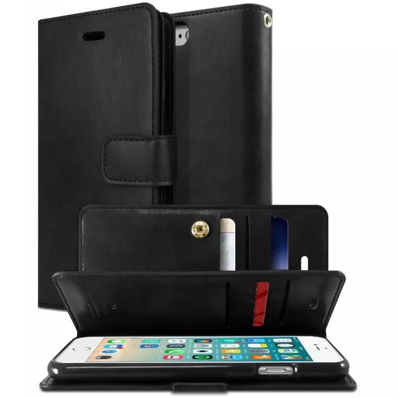 Mercury Mansoor Diary Wallet Case For Samsung Galaxy S8 Plus Black