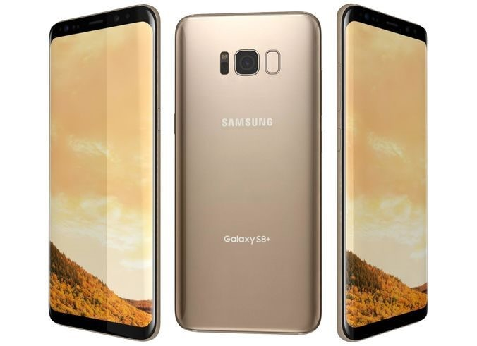 Samsung Galaxy S8 +/ Plus Refurbished (64GB, Maple Gold)