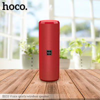 Sports Bluetooth Speaker (BS33) Red