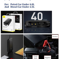 BASEUS. Car Jump Starter Power Bank (8000mAh)