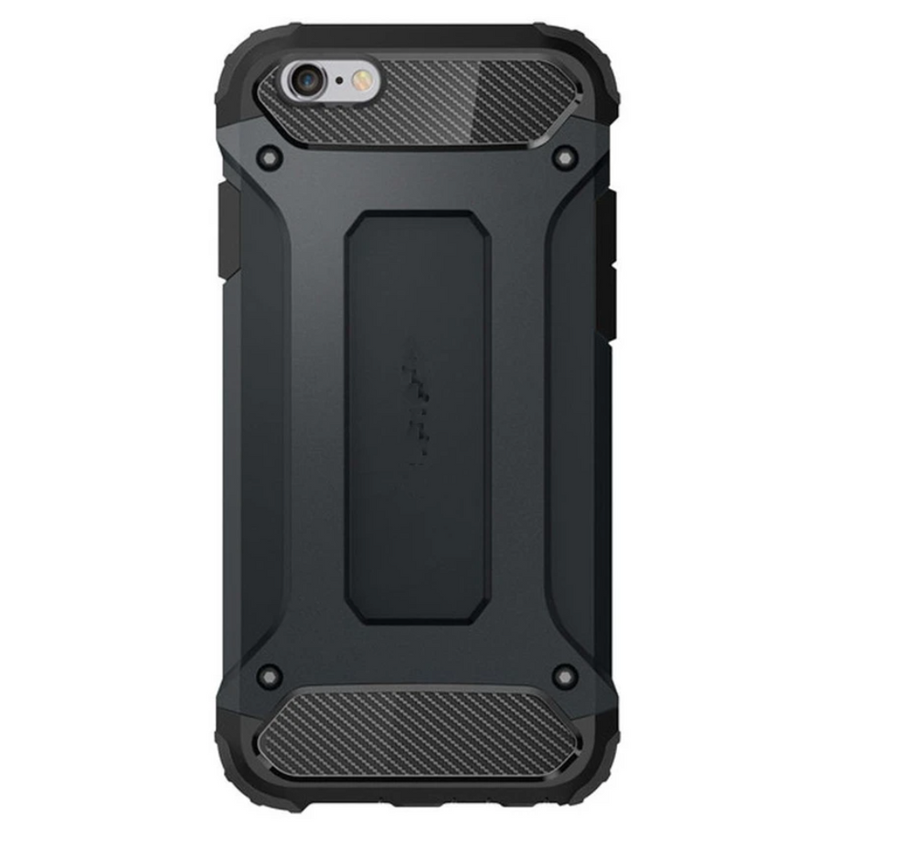 Rugged Tough Armor Tech Case For Samsung Galaxy S6 Black