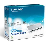 TP-LINK  8-PORT FAST ETHERNET Desktop Switch