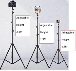 Tall & Adjustable Tripod