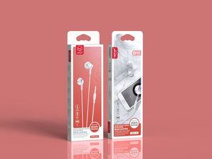VIPFAN. Wired Earphone w/ Mic (M6)