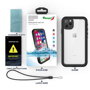 "Genuine Red Pepper Waterproof Case For iPhone X / XS / XR /  XS Max / 6 / 7 / 8 / SE 20 / 6s / 7 Plus / 8 Plus / Pro11.6.1"" / Pro 5.8"" / Pro Max 6.5"""