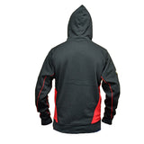 Match - Black Hooded Sweatshirt