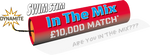 SwimStim £10,000 In The Mix Match Entry Ticket (NO LONGER AVAILABLE)