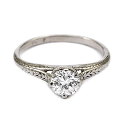 Vintage Diamond Solitaire Rings