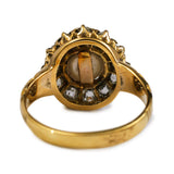 Oh My! Lush Victorian Pearl and Diamond Ring