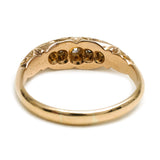Antique Date 1909 Decorative Diamond Ring