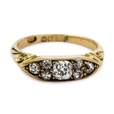 Spectacular Victorian Diamond Ring