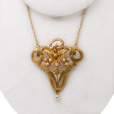 Antique Art Nouveau french necklace