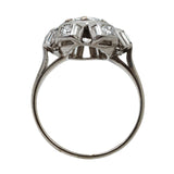 Vintage Art Deco Diamond Cluster Ring