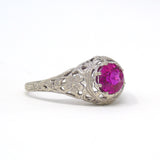 Vintage Vernuil Ruby ring