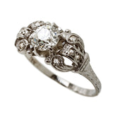 Delectable Art Deco Diamond Ring
