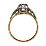 Splendid Art Deco Diamond Solitaire Ring