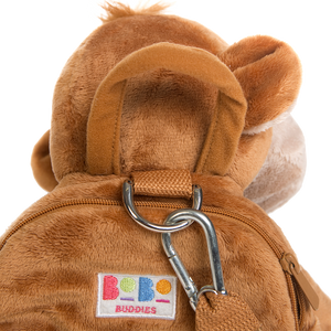 Mungo the Monkey Toddler Backpack with Reins