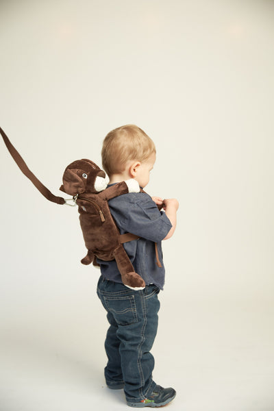 Lupo the Puppy Toddler Backpack with Reins