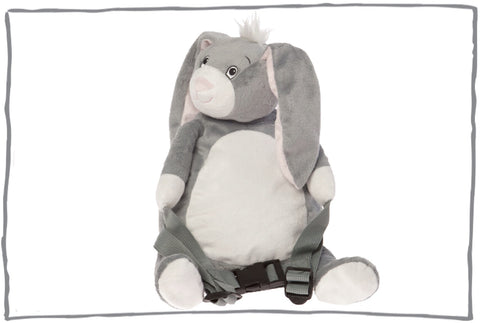 HipHop the Bunny Toddler Backpack with Reins