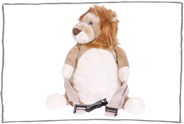 Roary the Lion Toddler Backpack with Reins