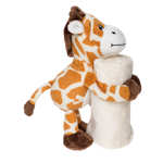 Load image into Gallery viewer, Raffy the Giraffe Comforter Blankie
