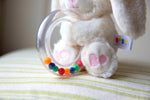 Load image into Gallery viewer, Betsy Blankie and Rattle Set