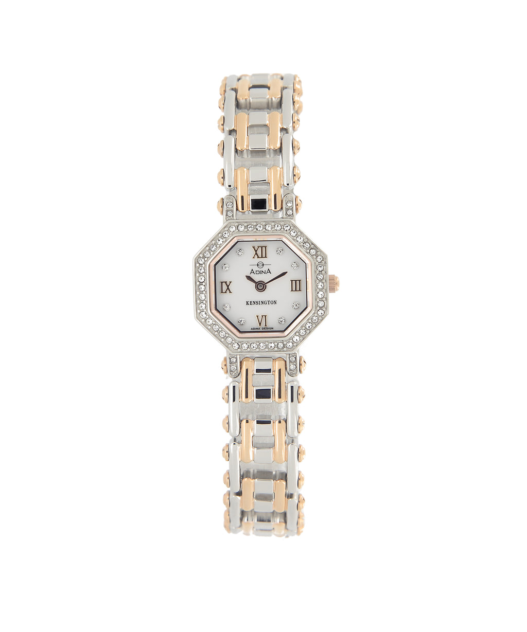 Adina Kensington Swaroski Set Dress Watch 200244 M1Xb