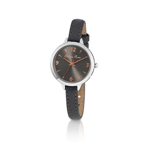 Chelsea Rose Gun Silver Willow Watch
