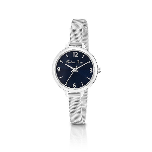 Chelsea Rose Silver Willow Watch