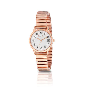 Chelsea Rose Rose-tone Iris Watch