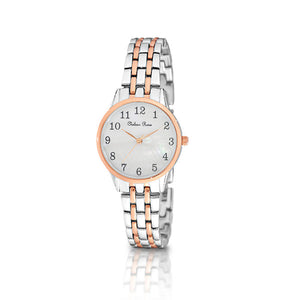 Chelsea Rose Silver Rose Violet Watch