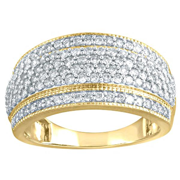 Yellow Gold 1ct Tdw Diamond Ring