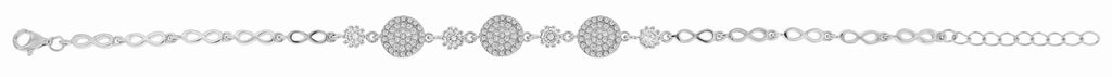 Sterling Silver And Cubic Zirconia (CZ) Bracelet