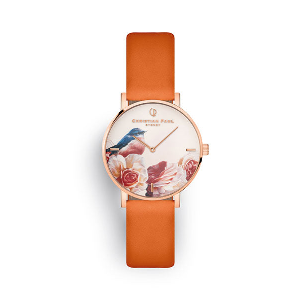 Christian Paul Garry Fleming Pink Robin 35mm Watch