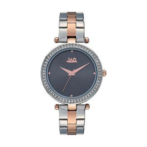 Jag Ava Grey Dial Rose Gold Watch
